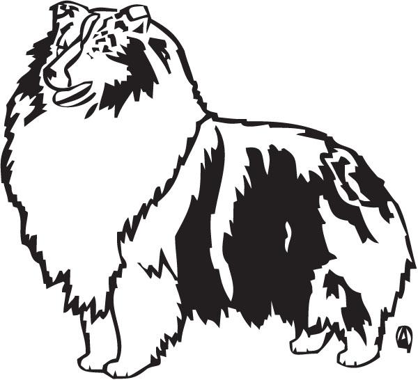 Shetland Sheepdog clipart Cliparts Cliparts Zone Sheltie Clipart