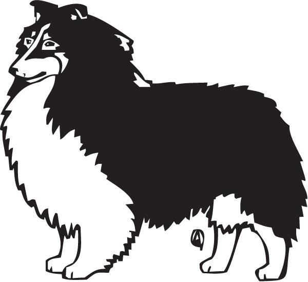 Shetland Sheepdog clipart Sheltie Art Clipart Free Clip