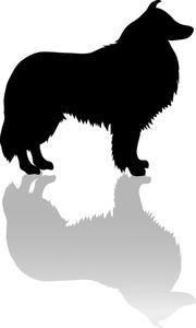 Shetland Sheepdog clipart Sheltie Art or Dog Dog