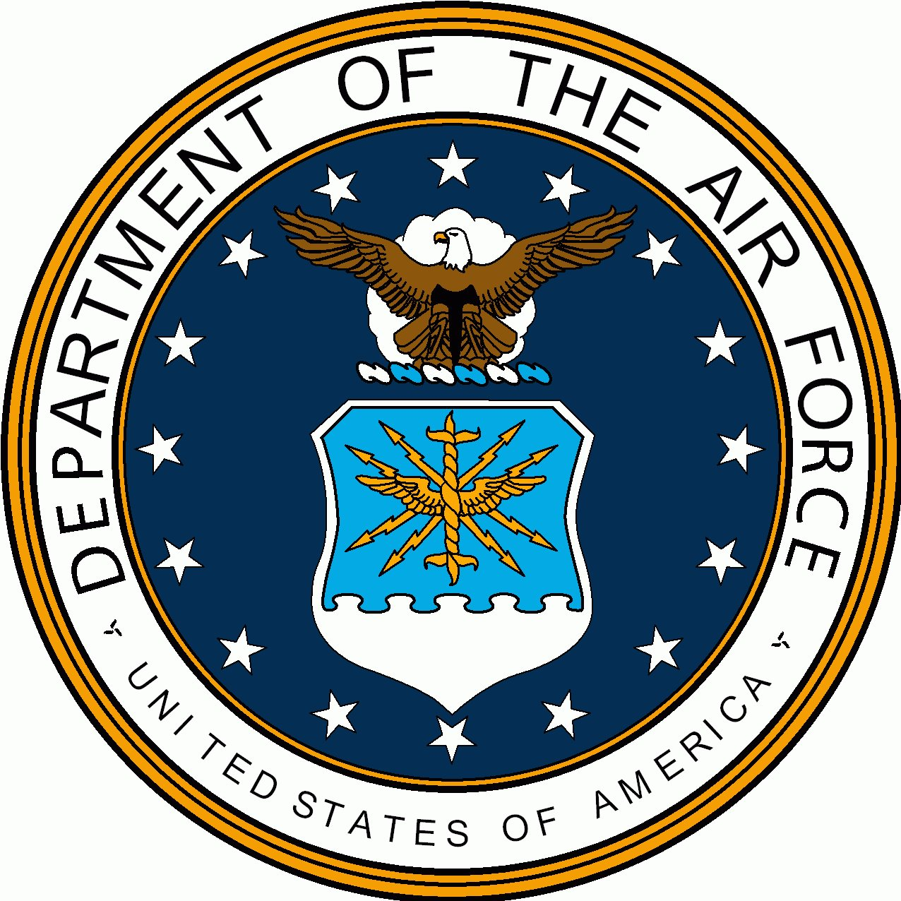 Shield clipart air force Emblem Usaf logo art Force