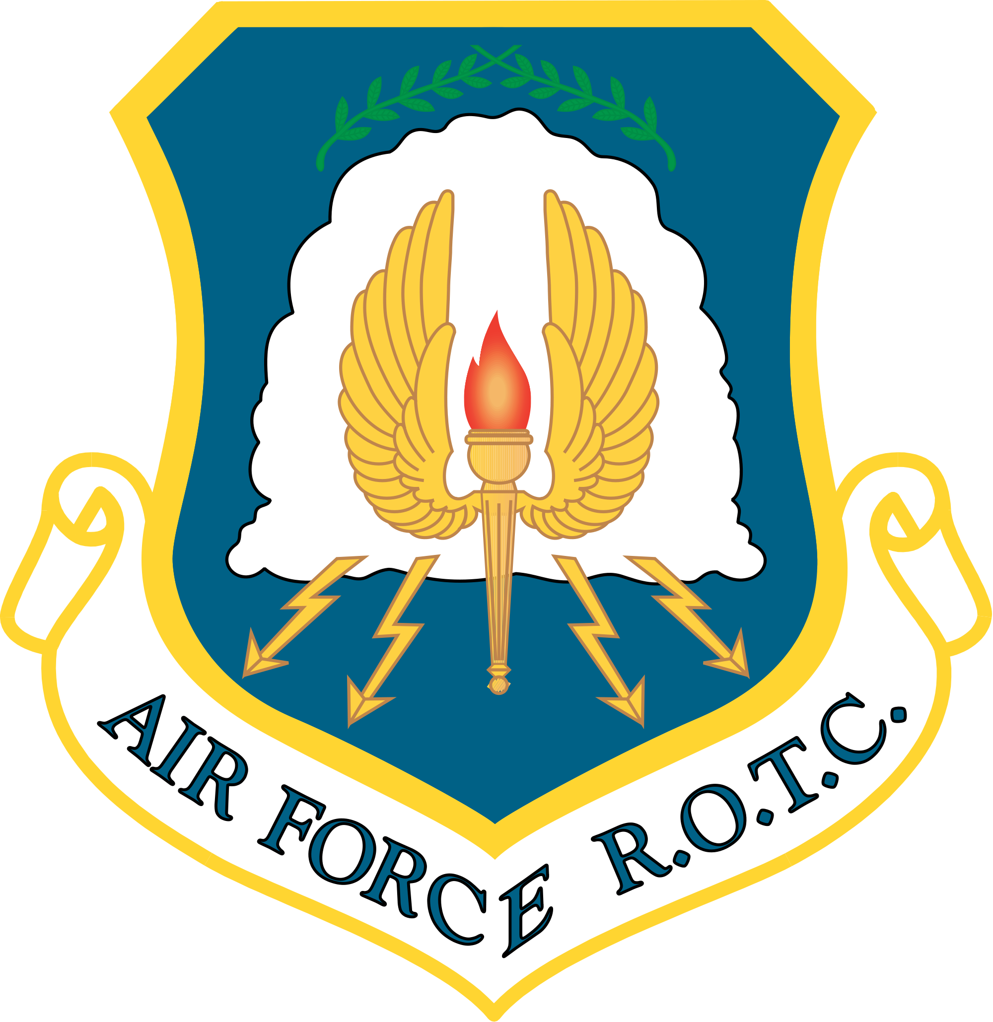 Shield clipart air force Of United States Force File:Shield