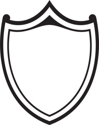 Shield clipart black and white Clipart Clipart Free ClipartPen Shield