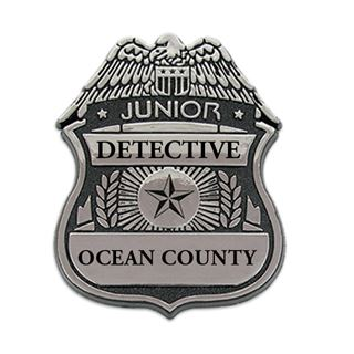 Shield clipart detective Printable Clipart Art Badges Police