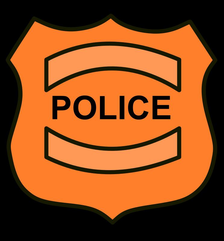 Shield clipart detective Police Art Free Shield 16940