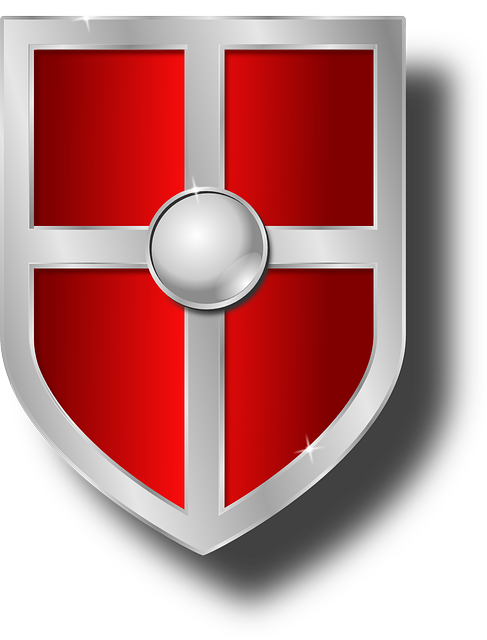 Shield clipart medieval shield To Red Shield Free Clip