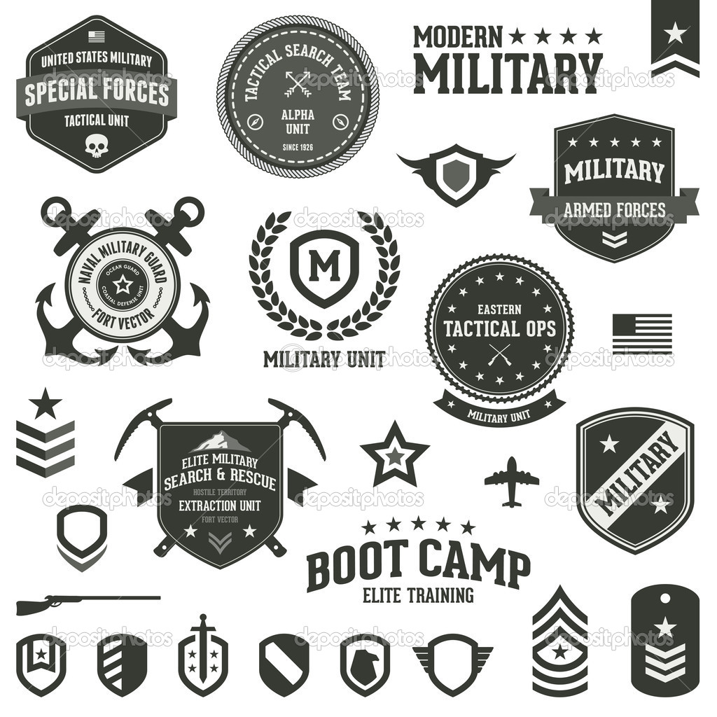 Shield clipart military badge Http:/ of and of labels