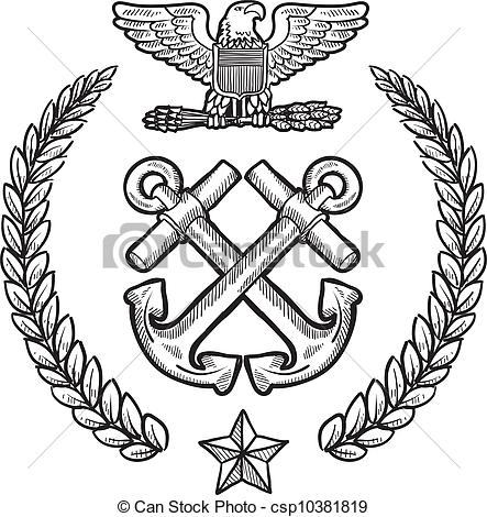 Navy clipart military emblem US Art of Clip military