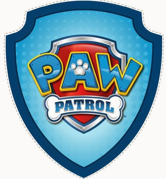 Shield clipart paw patrol 113 party: Paw for on