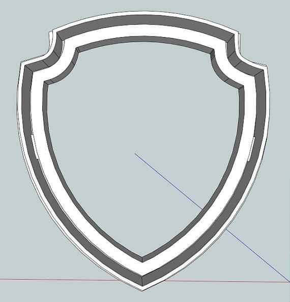 Shield clipart paw patrol Com by  Geek2Geek by