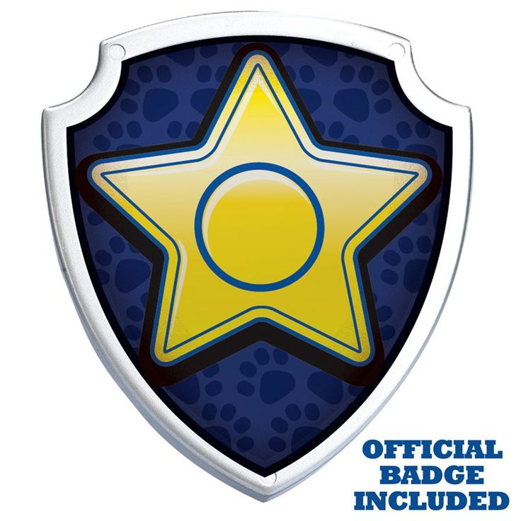 Shield clipart paw patrol Clipart Pack about Badge images