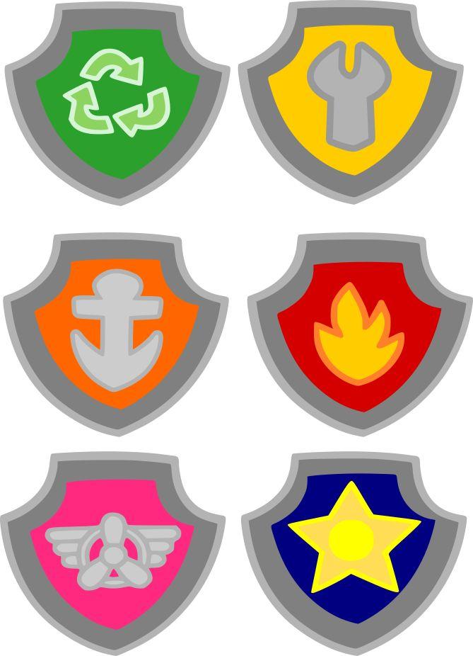Shield clipart paw patrol Best Badges badge Meek: patrol