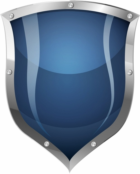 Shield clipart steel shield Free commercial vector) use shield