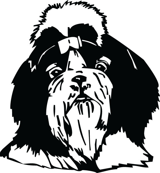 Shih Tzu clipart Shih Breed Tzu (3719) Custom