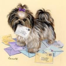 Shih Tzu clipart Cute this cross Tattoo a