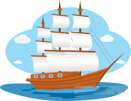 Sailing Ship clipart vector Download Sailing Ships Sailing Old