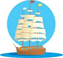 Sailboat clipart travel #6