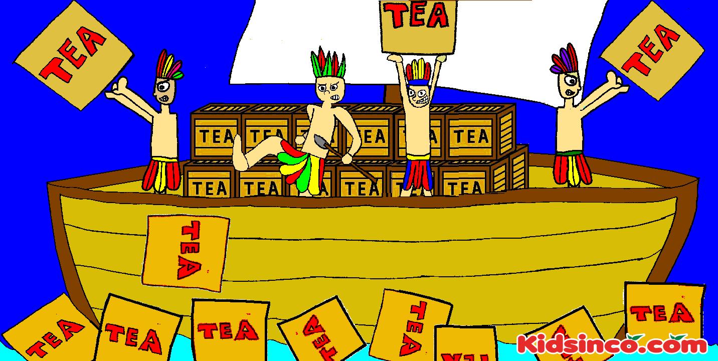 Boat clipart boston tea party Boston Clipart Tea tea K