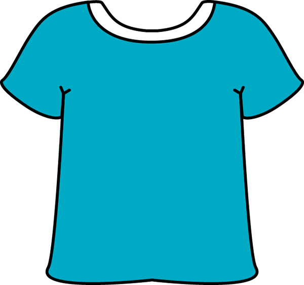 Shirt clipart clean shirt Shirt Blue White T Art