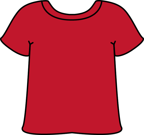Shirt clipart clean shirt Art Red T Clip Shirt
