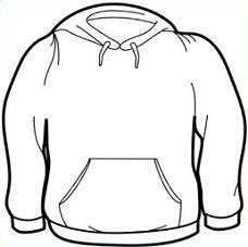 Shirt clipart black sweatshirt #7