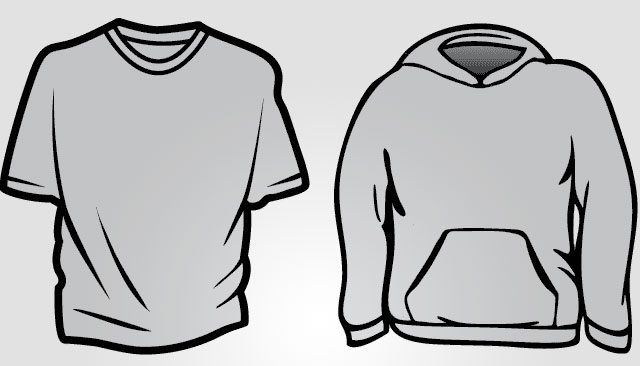 Shirt clipart black sweatshirt #5
