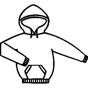 Shirt clipart black sweatshirt #11