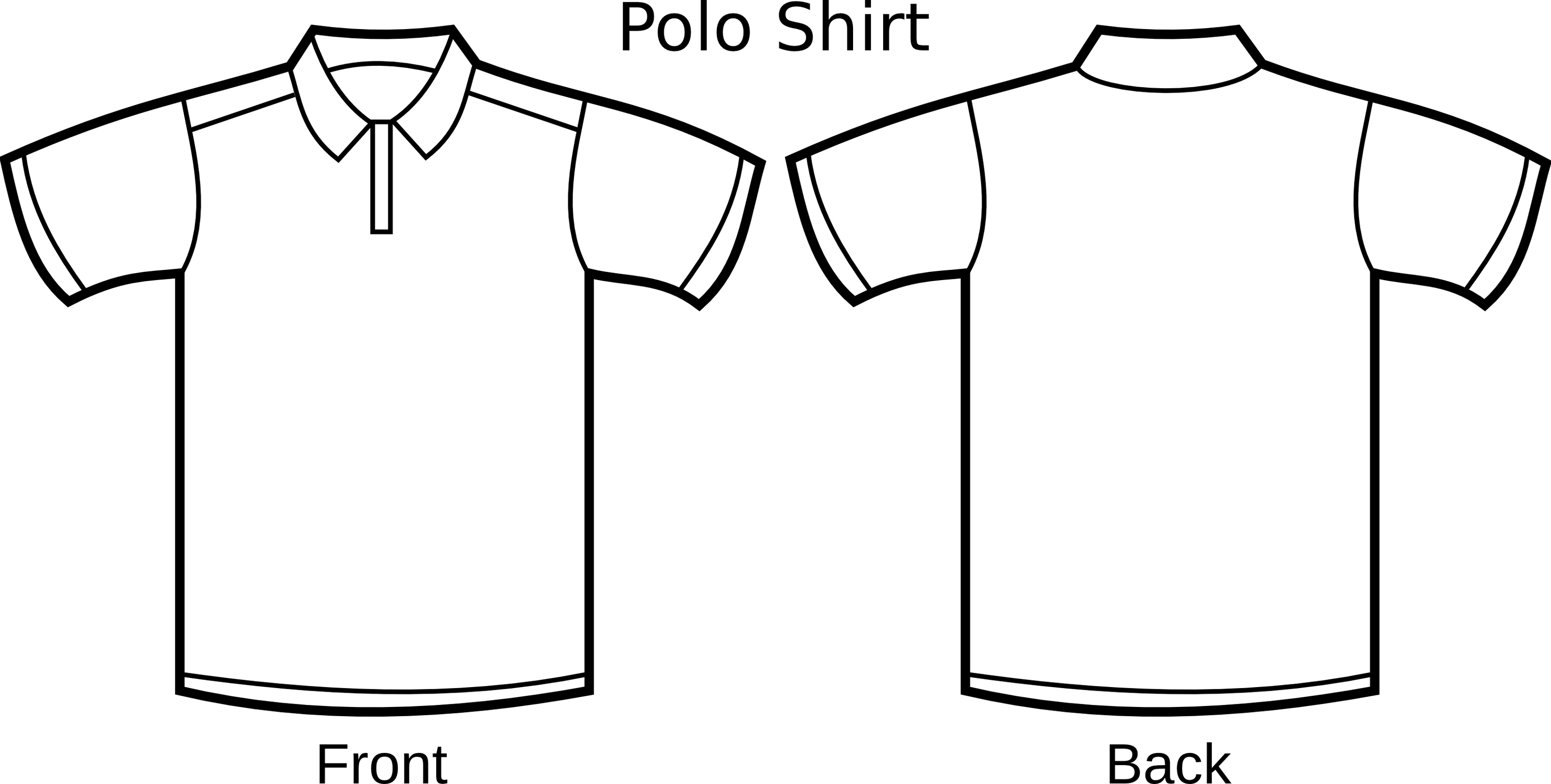 Shirt clipart black sweatshirt #13