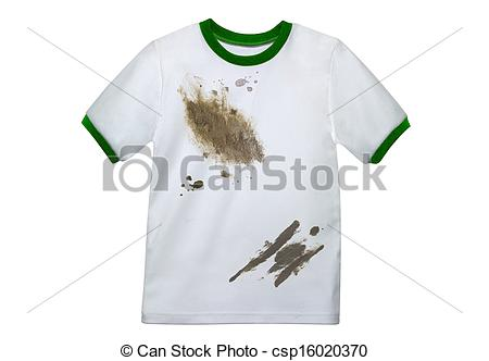 Shirt clipart clean shirt Of Dirty isolated Picture
