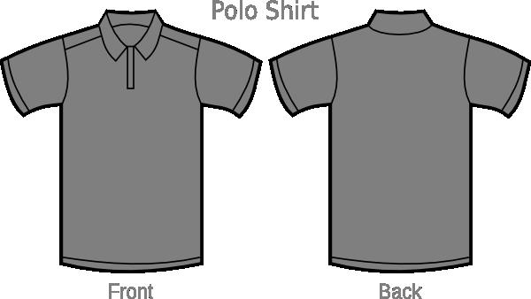 Shirt clipart collar shirt As: Polo Clker com vector