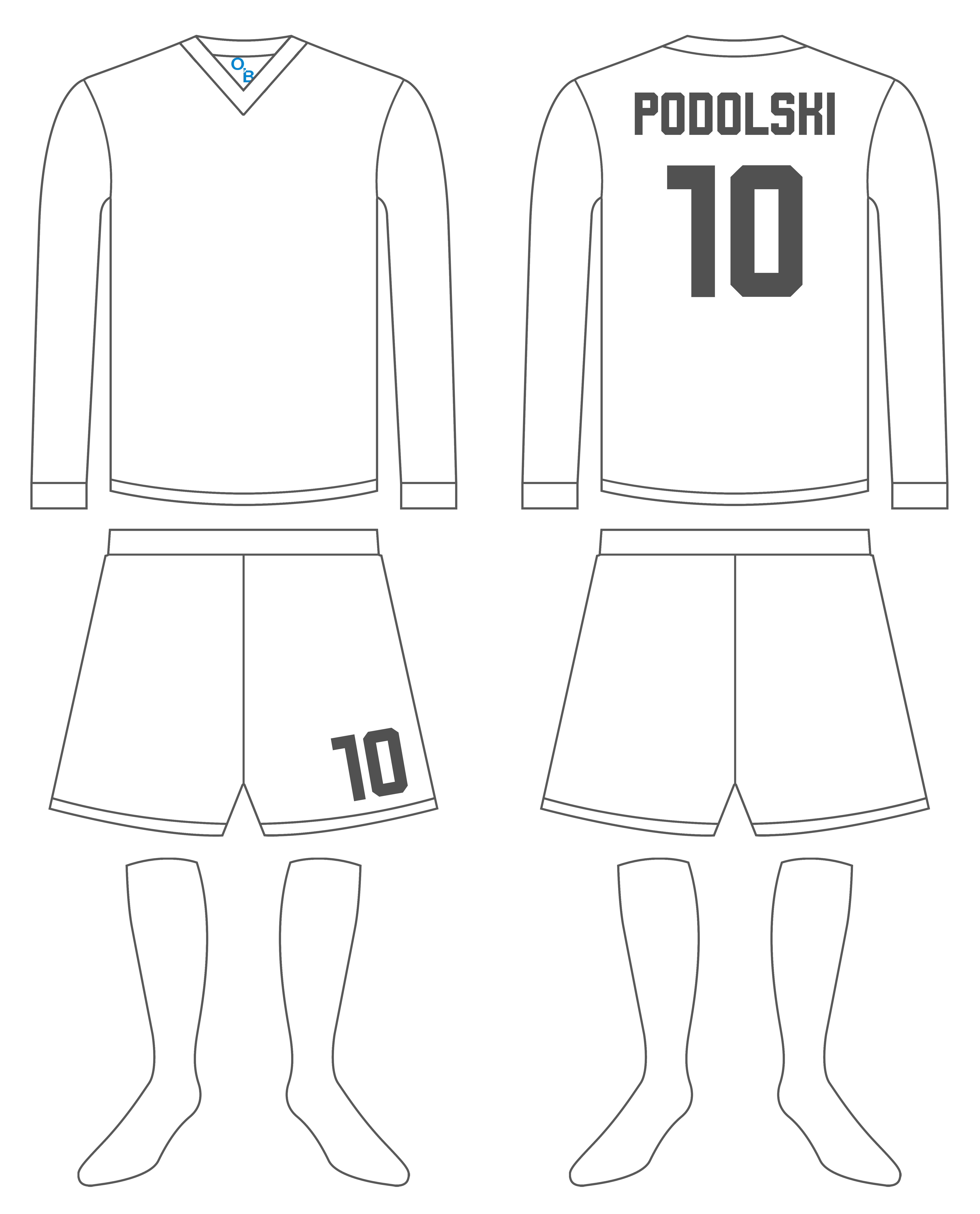 Shirt clipart football kit Football by free template template