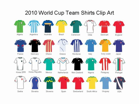 Shirt clipart football kit Football kit powerpoint Templates football