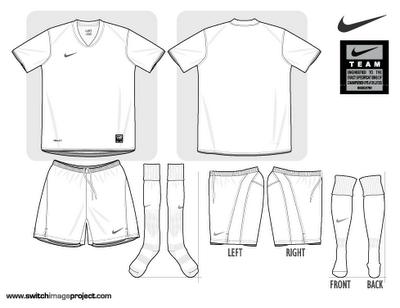 Shirt clipart football kit Clip Football photoshop com Kit