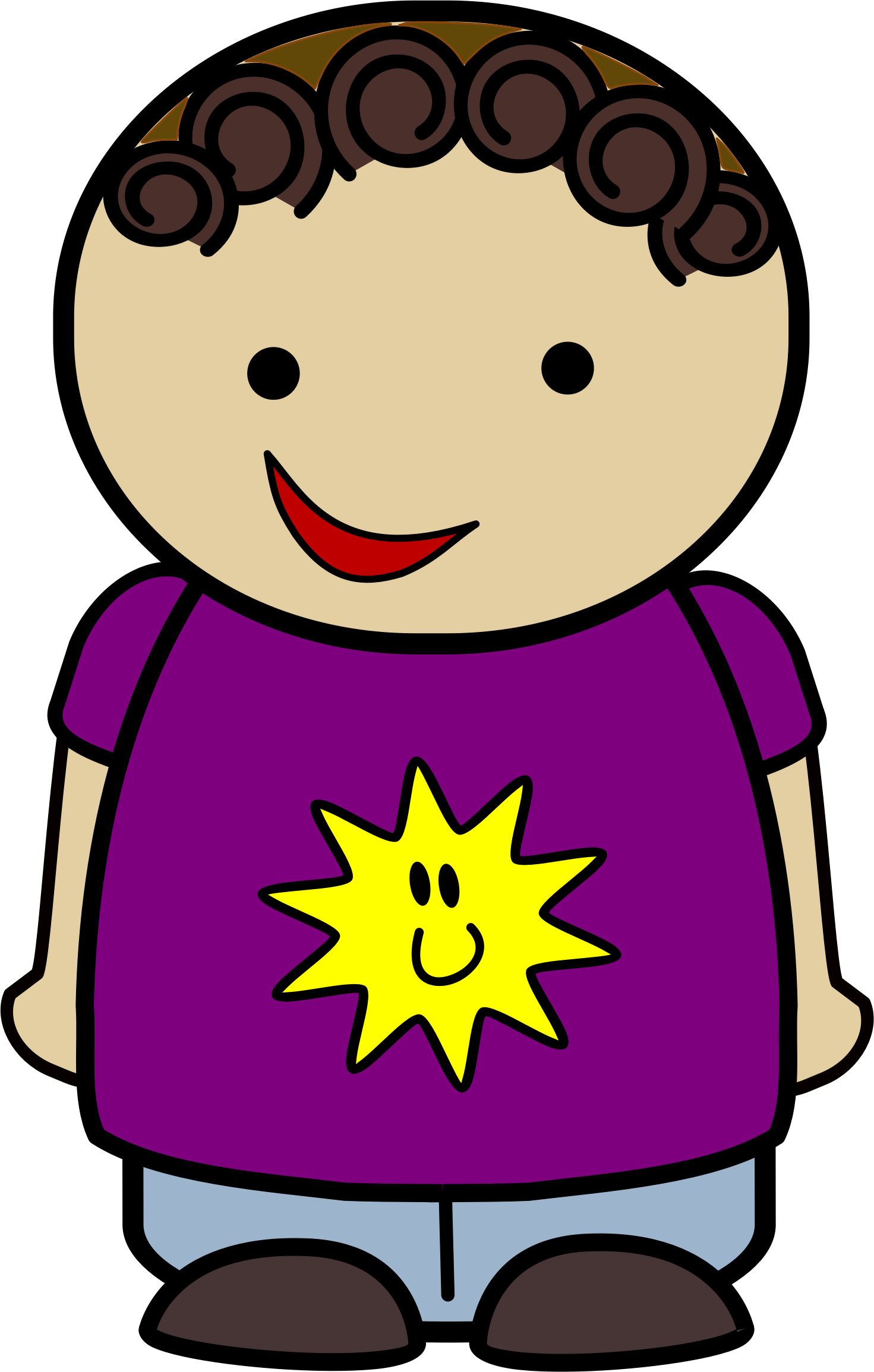 Shirt clipart happy #4
