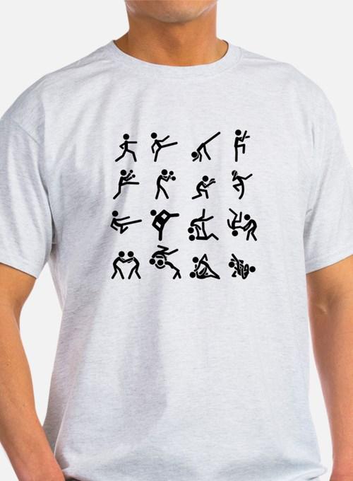 Shirt clipart karate Shirts Karate Martial Tees Set