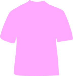 Shirt clipart pink shirt Pink art Clker Powder clip