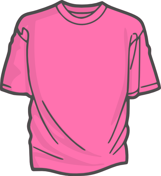 Shirt clipart pink shirt Clipart shirt Girl Clip collection