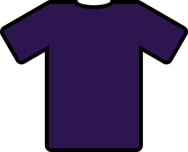 Shirt clipart purple Clip free download shirt vector