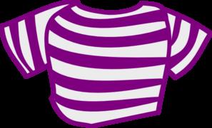 Shirt clipart purple Clip at com Shirt