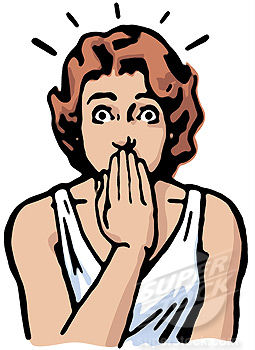 Shocking clipart Clipart Shocked cliparts Woman Shocked