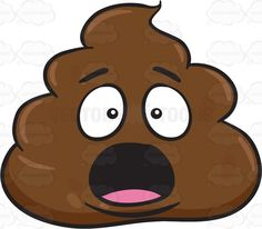 Shocking clipart aghast Poo Right  Clipart The