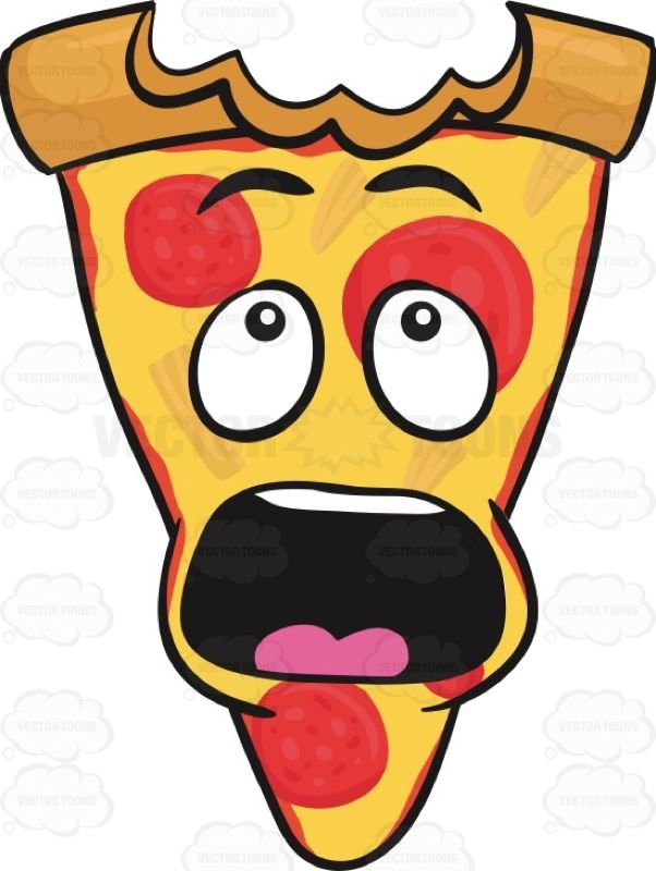 Shocking clipart big eye #afraid ideas Of Pizza Mark
