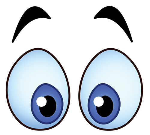 Shocking clipart big eye Many will what eyes Emoticons