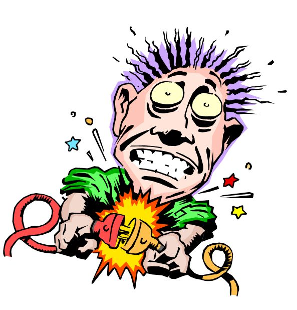 Electrical clipart electric shock Best Shock Electric Electric Shock