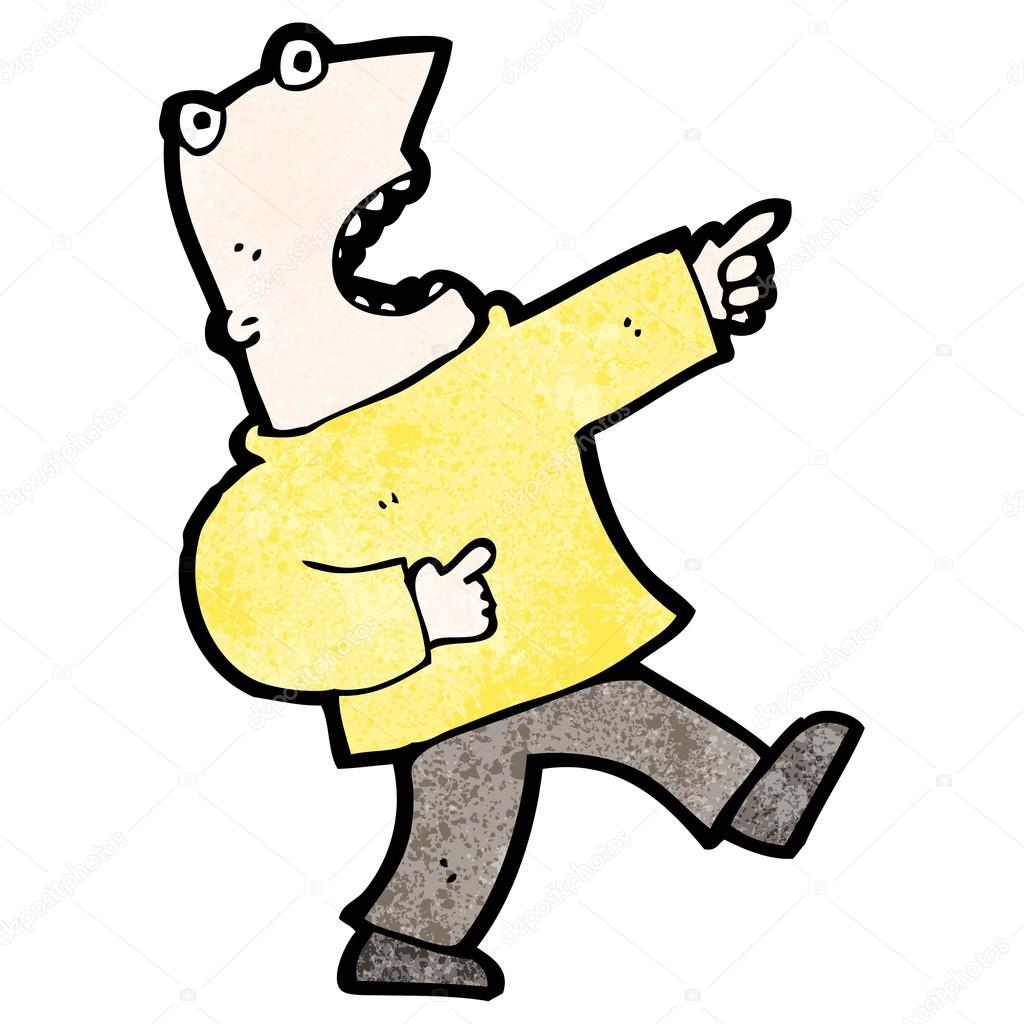 Shocking clipart finger pointing #4