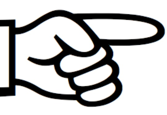 Shocking clipart finger pointing #1