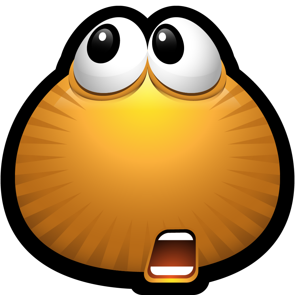 Shocking clipart happy Download emoticons Brown Clip doubt