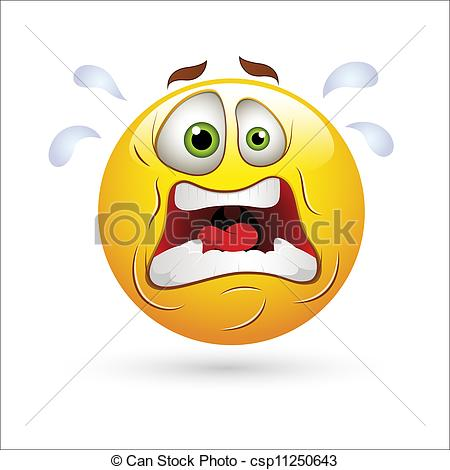 Shocking clipart surprised expression  Icon Creative Smiley Expression