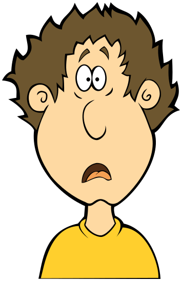 Shocking clipart surprised person Clip Free Shocked Free Art