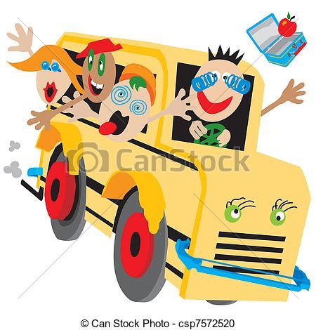 Shocking clipart wacky Wacky Bus a bus School