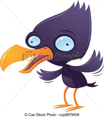 Shocking clipart wacky Stock Bird of cartoon Squawking